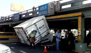 Puente de Av. Brasil: choferes tienen otras vías para evitar impactar contra estructura