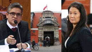 Keiko Fujimori: Domingo Pérez solicita a procurador formular nulidad de fallo del TC