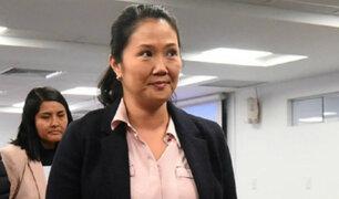 Keiko Fujimori: este sábado se ve pedido de prisión preventiva