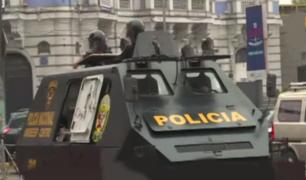 Un fracaso: Gran despliegue policial frustró paro de colectiveros