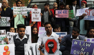 Conmoción en la India: sujetos secuestran a mujer, la violan en grupo y queman su cuerpo