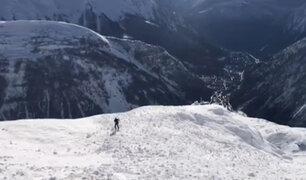 ¡Trágico! Esquiadores fallecen arrastrados por avalancha en los Alpes italianos