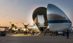 El Super Guppy de la NASA entra en acción para el regreso a la LUNA
