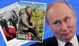 Rusia: se pone a la venta el calendario de Vladimir Putin para 2020