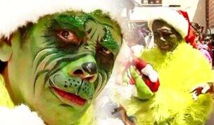 """¡Cuidado con el terror de las compras navideñas!: el """"Grinch Cachay"""" llegó a la ciudad"""
