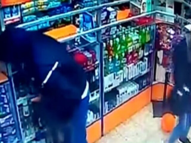 SMP: ''Ironman'' y ''Anonymous'' asaltan farmacia en Halloween