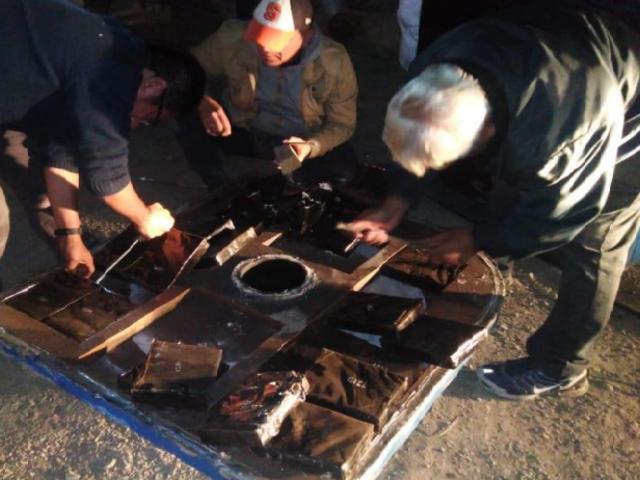 PNP incautó 191 kilos de cocaína escondidas en bombas hidráulicas en el Callao