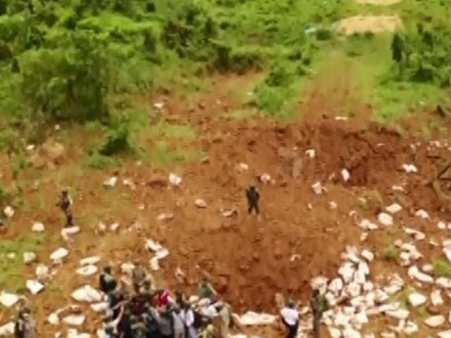 Pasco: destruyen cuatro pistas clandestinas del narcotráfico