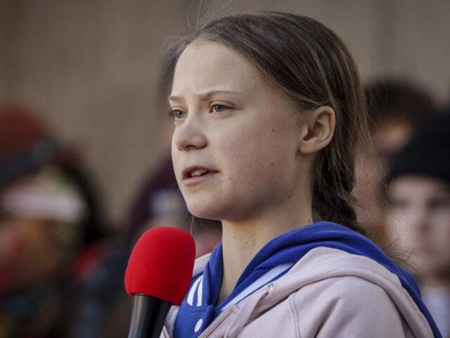 Greta Thunberg, joven activista, pidió votar por Biden y no por Trump