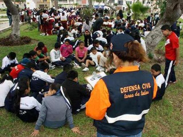 Simulacro de sismo y tsunami se llevará a cabo el 5 de noviembre a nivel nacional
