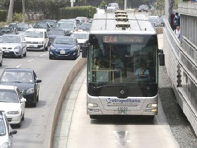 Metropolitano emite comunicado ante posible paralización del servicio