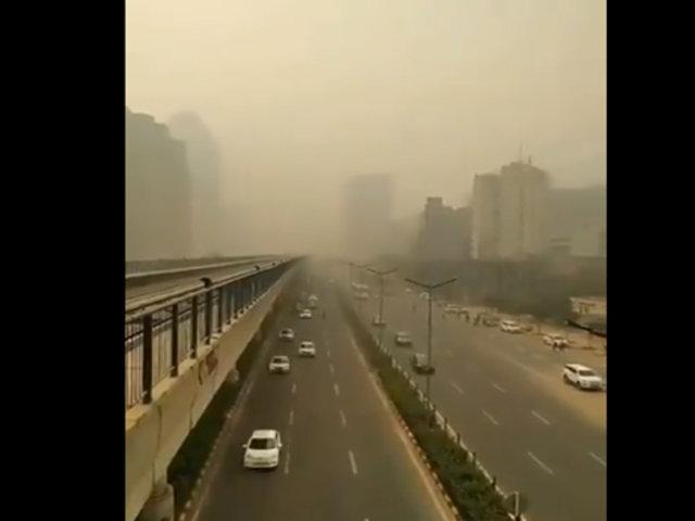 Nueva Delhi: capital india en emergencia por contaminación del aire