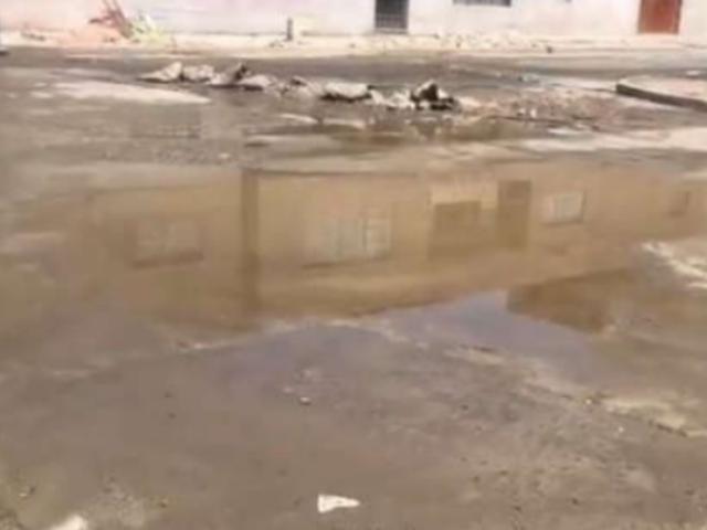 Rotura de tubería ocasionó aniego en San Martín de Porres