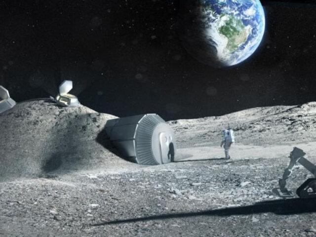 La NASA planea volver a la Luna para habitarla
