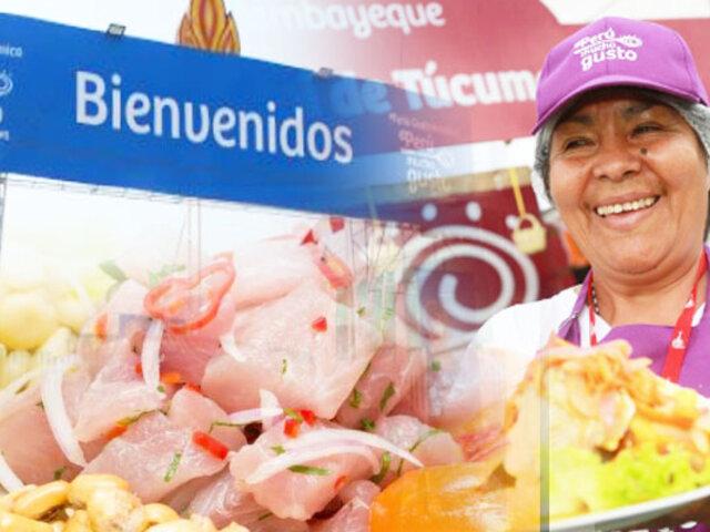 """Tumbes: """"Feria Perú, Mucho Gusto"""" abrió sus puertas con lo mejor de la cocina peruana"""