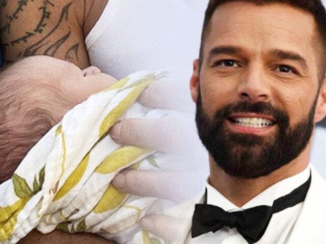 Ricky Martin anunció el nacimiento de su cuarto hijo