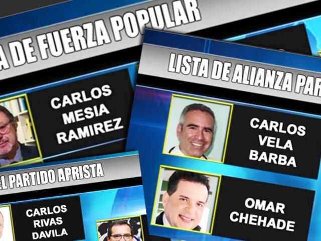 Del Castillo saluda a las 'caras nuevas' en las primeras posiciones de las listas del Apra