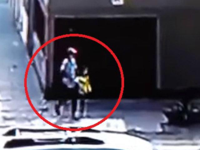 Comas: sujeto intentó secuestrar a niña con helado