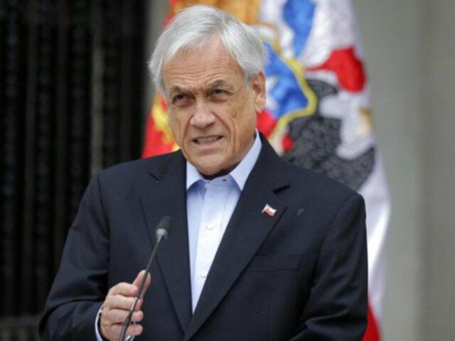 Chile: Gobierno anuncia proceso para elaborar nueva Constitución
