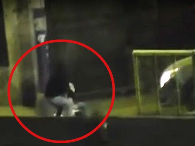 """Cercado: caen delincuentes que asaltaban en puente """"Rayito de Sol"""""""