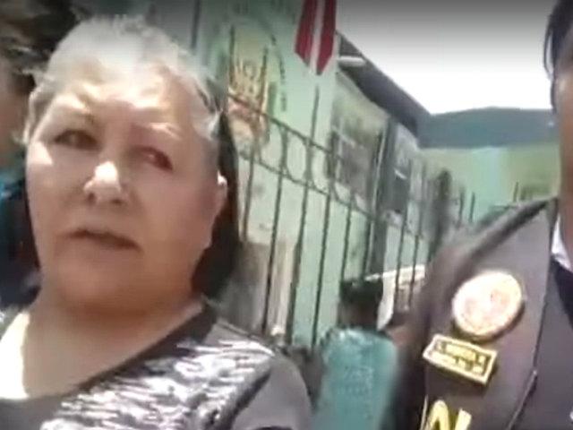 Lambayeque: capturan a exalcaldesa por quien había una recompensa de S/. 20 mil