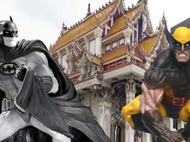 India: conozca el primer templo dedicado a los superhéroes