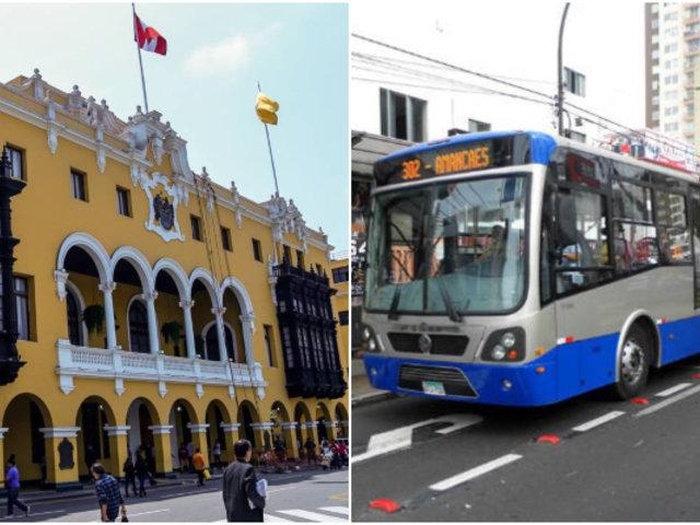 Municipalidad de Lima iniciará acciones legales si corredores viales suspenden servicios