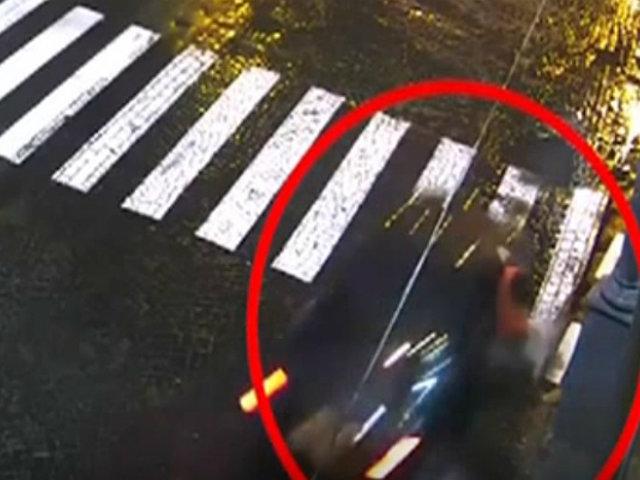 Impactantes imágenes de accidentes registrados por cámaras de seguridad en el mundo