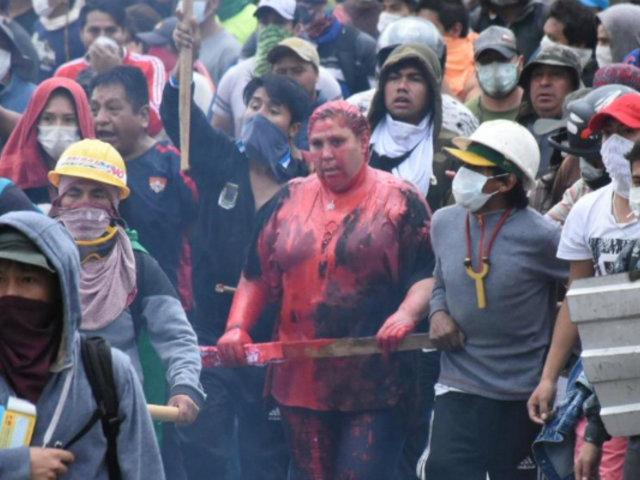 Bolivia: Fuerzas Armadas toman calles de La Paz tras violentas manifestaciones