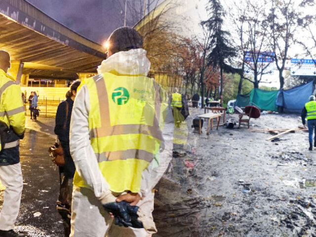 Francia: policía desaloja a más de mil inmigrantes de dos campamentos en París