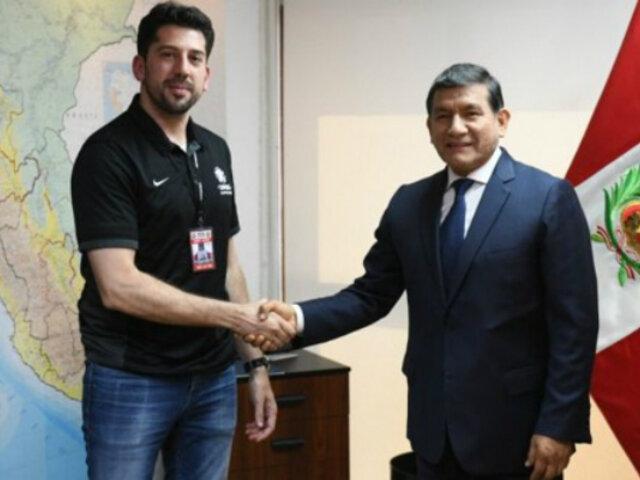 Gobierno reafirma su compromiso con la final de la Copa Libertadores