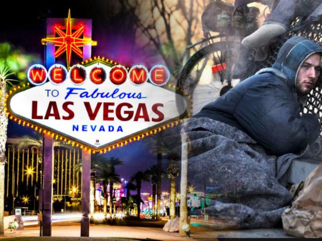 EEUU: Las Vegas prohíbe dormir o acostarse en las calles
