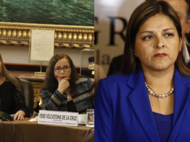 Fuerza Popular: Esto dijo Karina Beteta sobre el alejamiento de Bartra y Vilcatoma