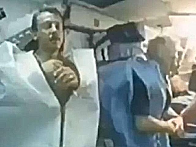 """El """"escalofriante"""" video que muestra cómo duermen los astronautas en el espacio"""