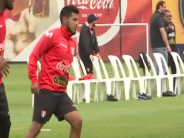 Alexis Arias feliz por su regreso a la selección