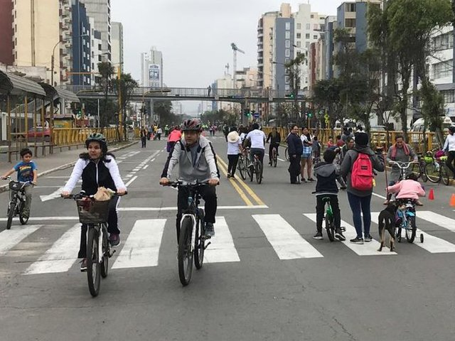 Cerrarán avenida Brasil este domingo con fines deportivos