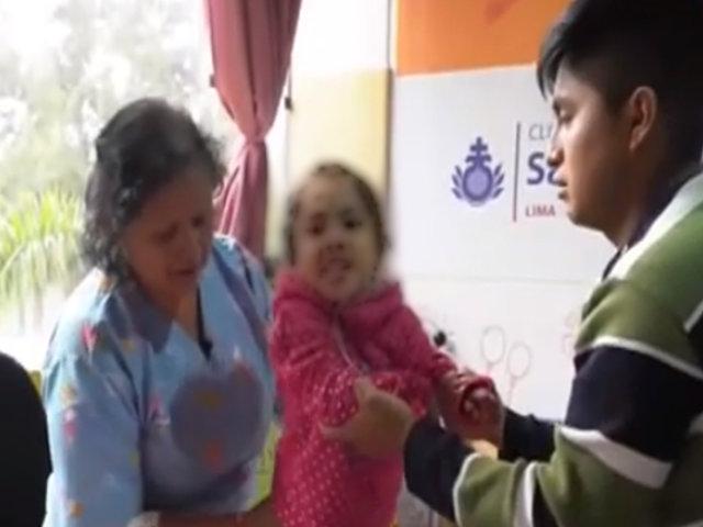 #DeTodosParaTodos: ella es Adrianita, cuya vida cambió cuando le detectaron parálisis cerebral