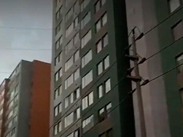 Comas: hombre fallece tras caer del piso 16 de un edificio