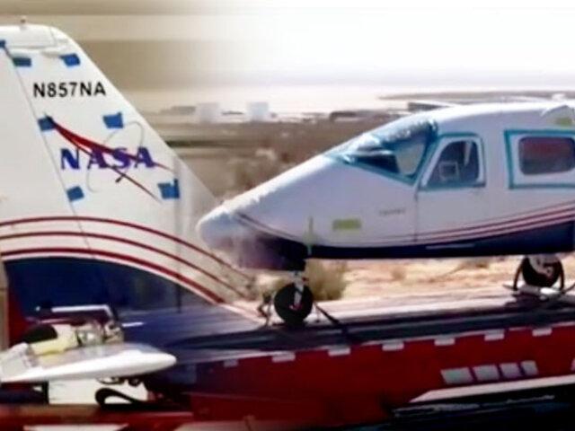 NASA prueba el primer avión totalmente eléctrico