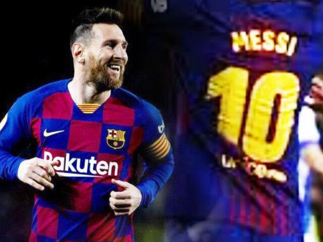 El Barça golea al Celta con triplete de Lionel Messi