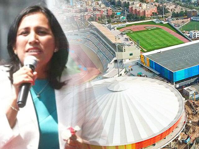 """Flor Pablo: """"Estado no venderá recintos deportivos de Panamericanos"""""""