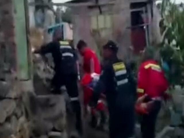 Ayacucho: sujeto es descubierto robando y se lanza del tercer piso para evitar ser capturado
