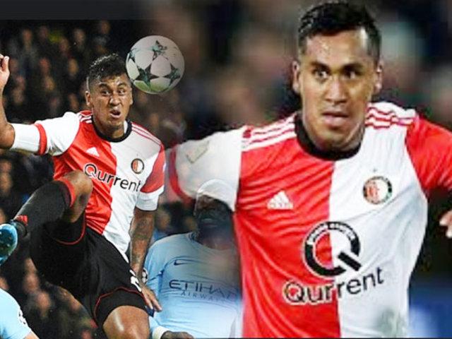 Renato Tapia jugó el segundo tiempo en victoria del Feyenoord