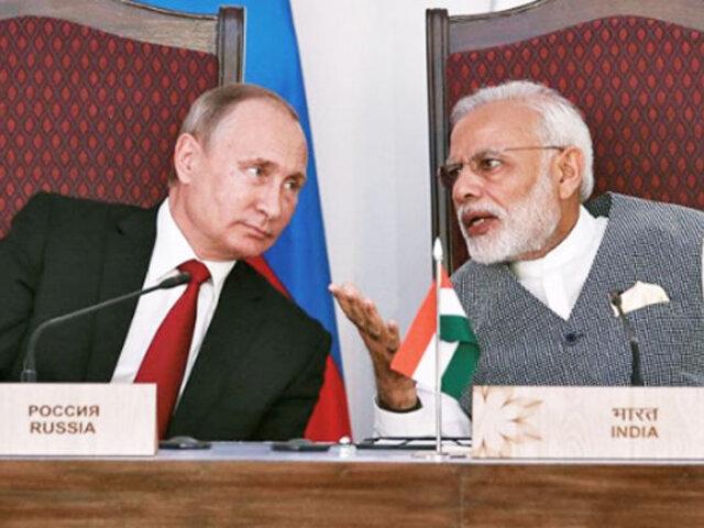 Rusia entregará tecnología de producción de cazas y tanques a la India