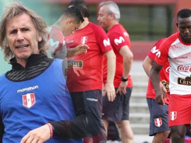 Selección peruana en Miami realizó su primer entrenamiento para amistosos por fecha FIFA