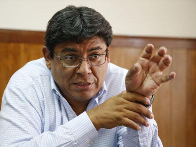 """Elmer Cuba sugiere al Ejecutivo """"encender la chispa de la inversión privada"""""""