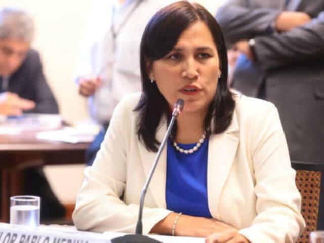 Ministra Flor Pablo: paros convocados por gremios de maestros son ilegales