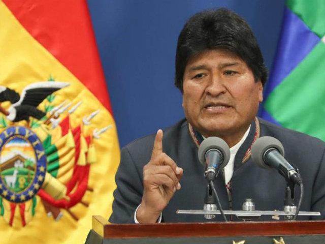 Gobierno mexicano concede asilo a expresidente Evo Morales