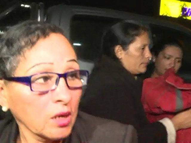 Gerald Oropeza: detienen a su madre y hermana en Carabayllo