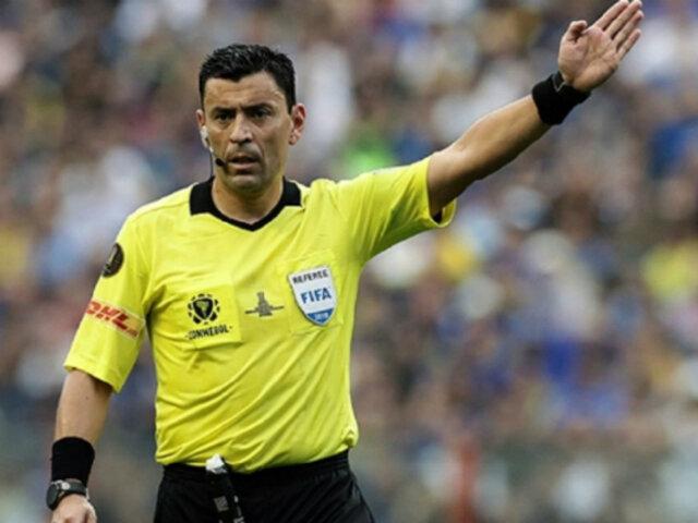 Copa Libertadores: se eligió al árbitro del River Plate vs. Flamengo